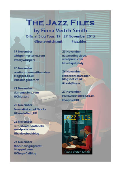 Blog tour   Review: The Jazz Files by Fiona Veitch Smith (5/5)
