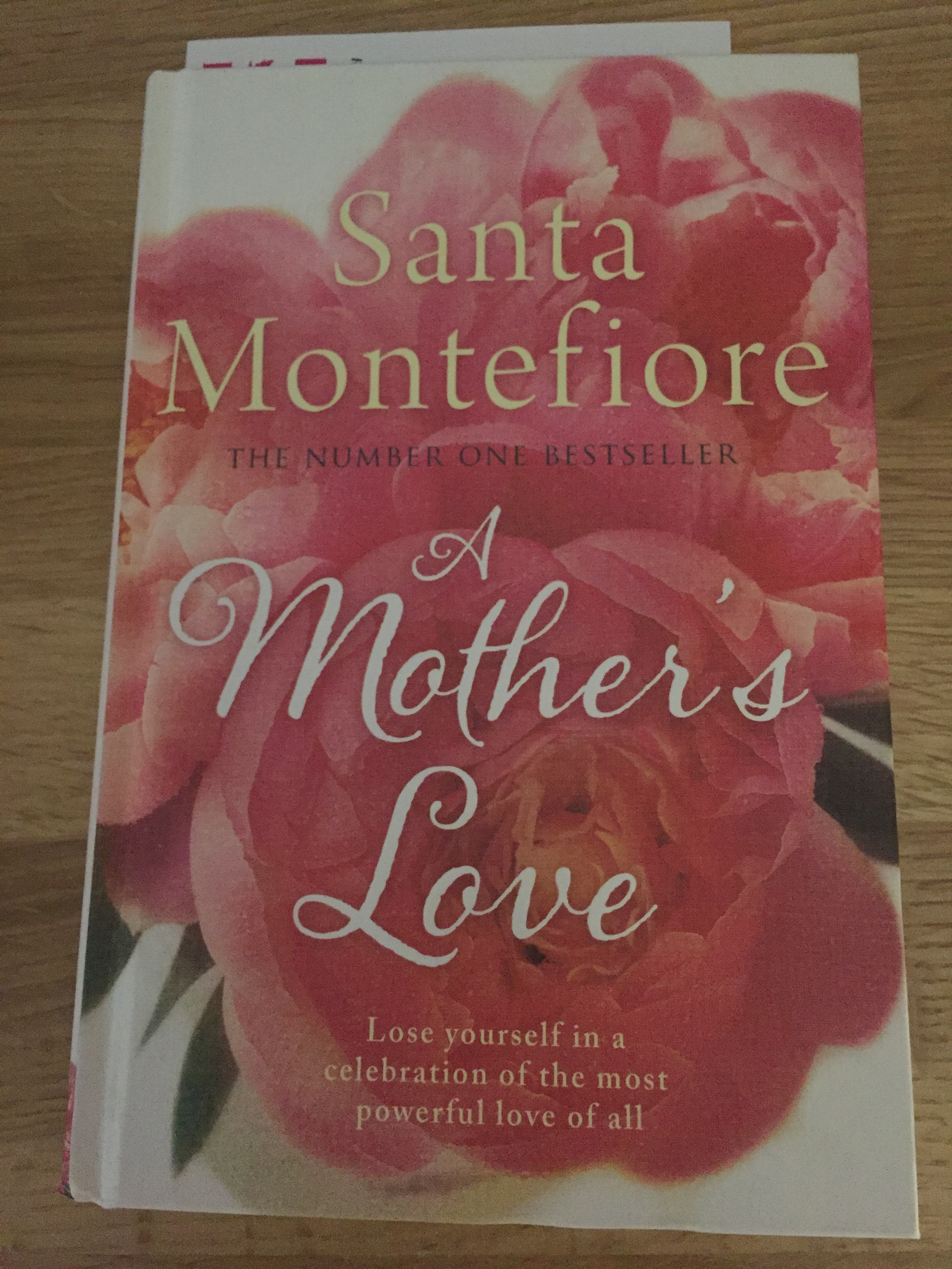 A Mother's Love by Santa Montefiore my book