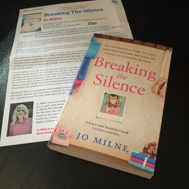 Breaking the Silence Jo Milne