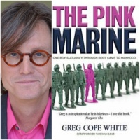 Q&A with Greg Cope White (author of The Pink Marine)
