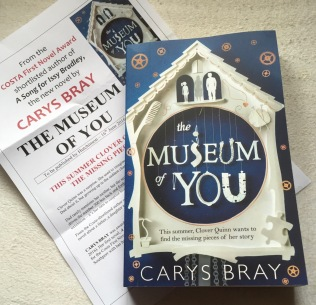 The Museum of You by Carys Bray (My Pic)