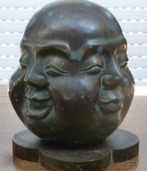 Four-faced Buddha Head