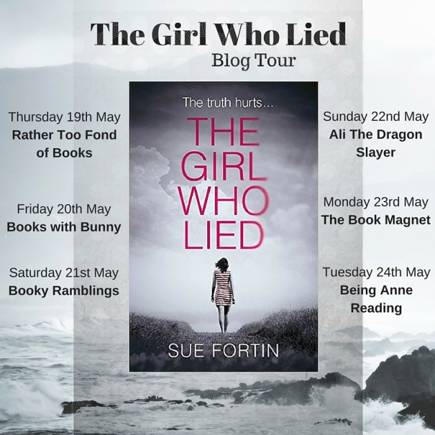The Girl Who Lied Blog Tour Copy