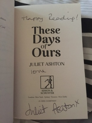 These days are ours juliet ashton
