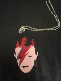 David Bowie necklace