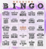 reading bingo / book bingo
