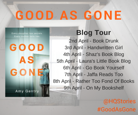 Good as Gone blog tour