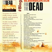 Paul E. Hardisty on Claymore Stryker | Reconciliation of the Dead #blogtour @OrendaBooks