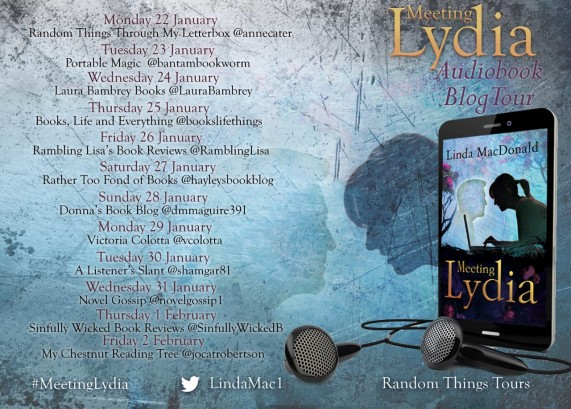 Meeting Lydia Blog Tour Poster