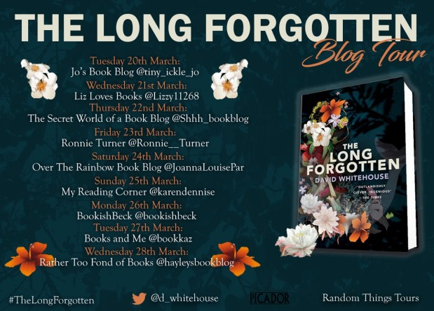 The Long Forgotten Blog Tour Poster
