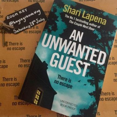 an unwanted guest shari lapena