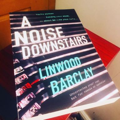 a noise downstairs linwood barclay