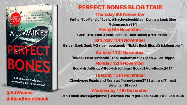 Perfect Bones Blog Tour banner