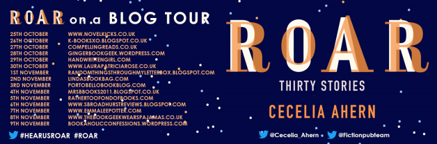 Roar blog tour banner
