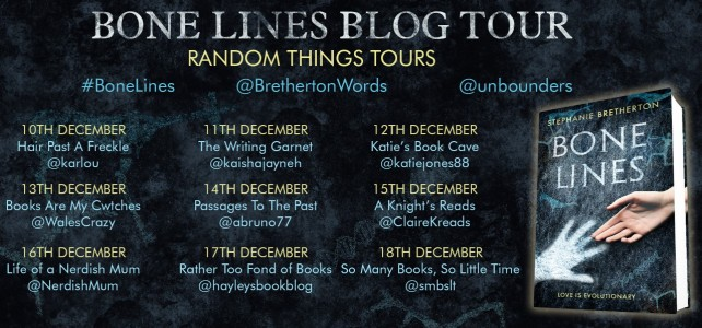 Bone Lines 2 Blog Tour Poster