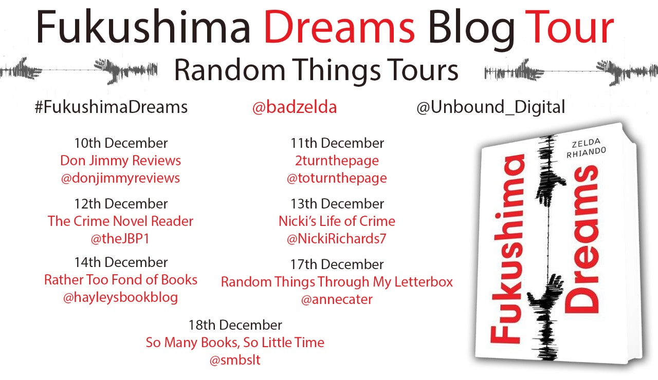 Fukushima blog Tour poster