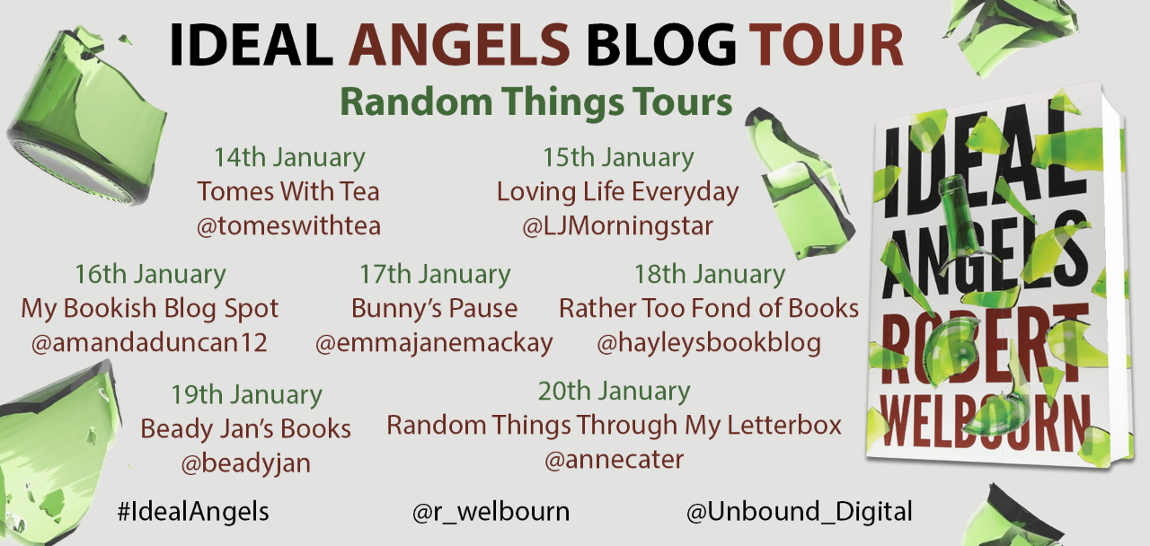 ideal angels blog tour poster
