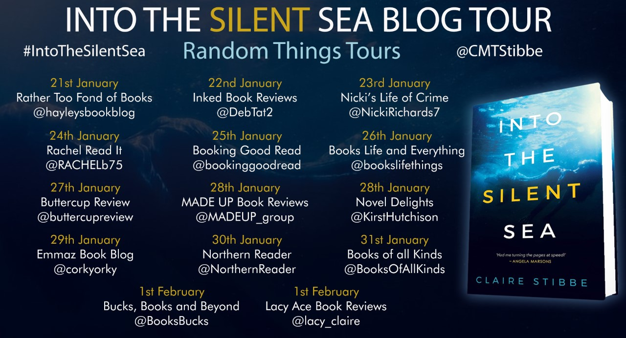 into the silent sea blog tour poster