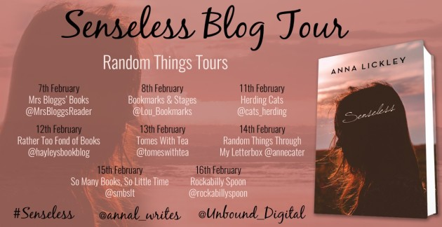 Senseless Blog Tour Poster