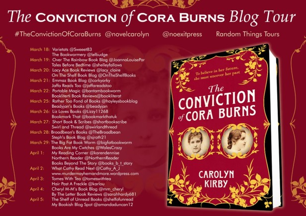 CURRENT Cora Burns BT Poster