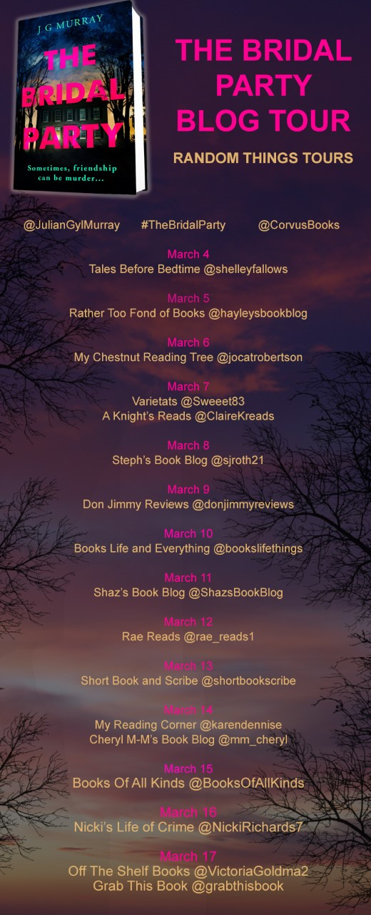 The Bridal Party Blog Tour Poster