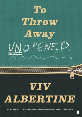 to throw away unopened viv albertine