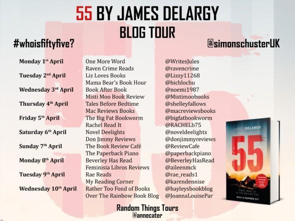 55 Blog Tour Poster