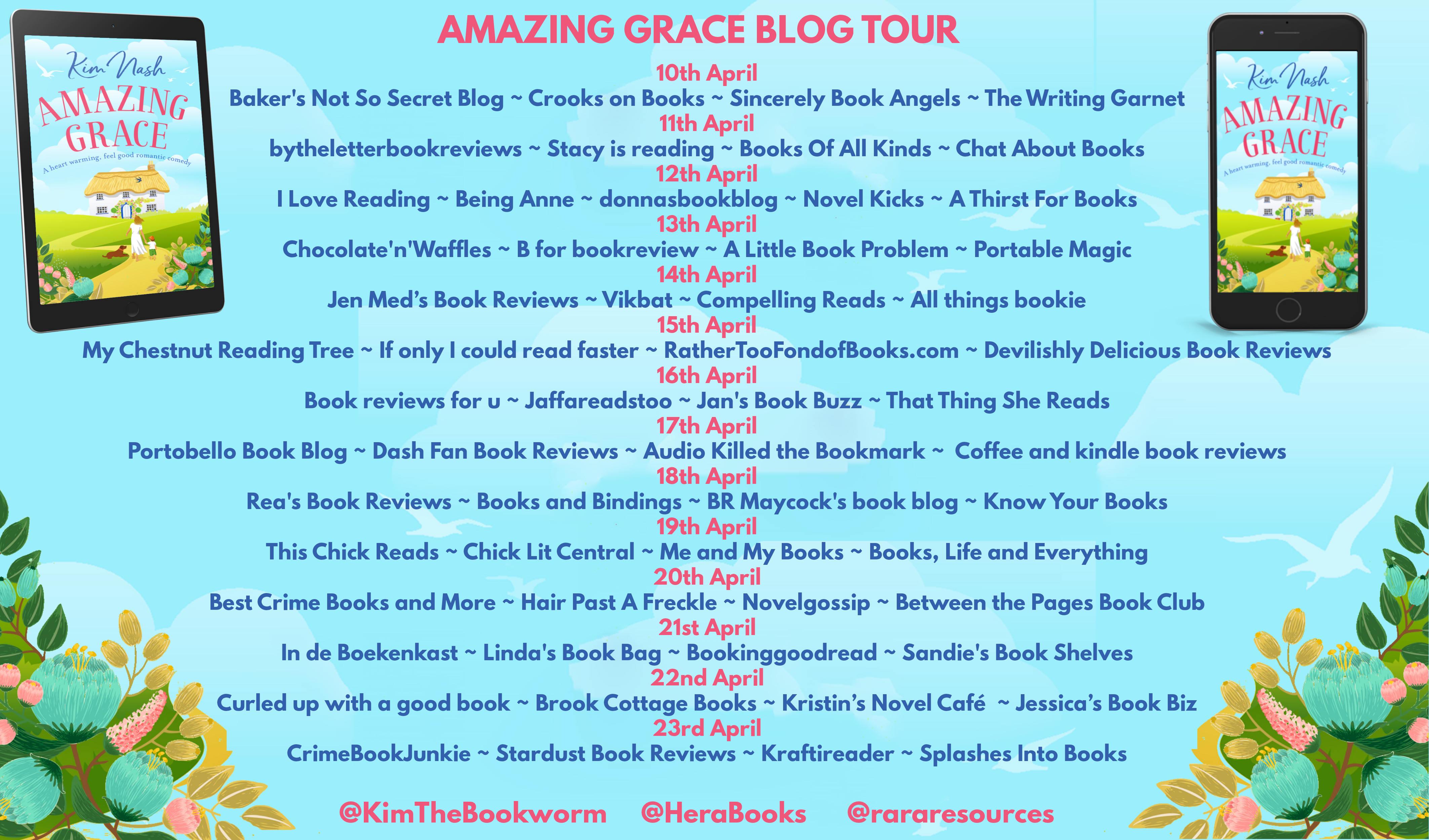 Amazing Grace Full Tour Banner