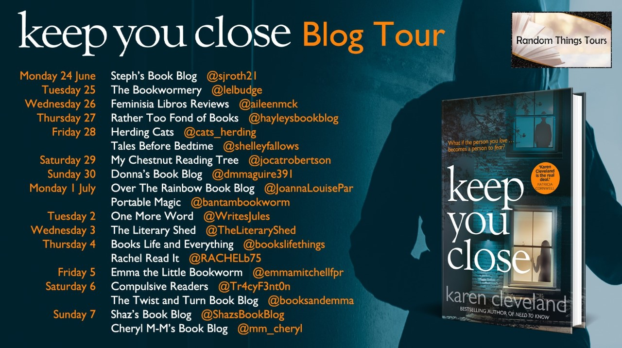 Keep You Close Blog Tour Poster