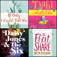 Fiction #BookReviews: If Only I Could Tell You | Matilda | Daisy Jones and the Six | The Flatshare