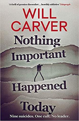 nothing important happened today will carver