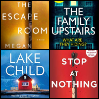 #BookReviews: Lake Child | Stop At Nothing | The Escape Room | The Family Upstairs