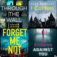#BookReviews: Forget Me Not | The Evidence Against You | Through the Wall | I Confess