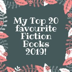 my top 20 favourite fiction books 2019