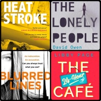 Mini Book Reviews: Heatstroke | Blurred Lines | All The Lonely People | The 24-Hour Cafe
