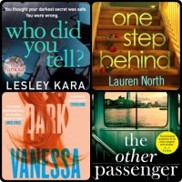 Mini Book Reviews: My Dark Vanessa | The Other Passenger | One Step Behind | Who Did You Tell?