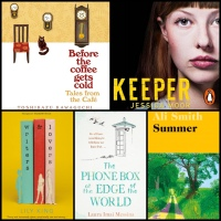 Mini Book Reviews: Keeper |The Phone Box at the Edge of the World | Tales From the Cafe | Writers and Lovers | Summer