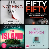 Mini Book Reviews: The Nothing Man | Fifty Fifty | House of Correction | The Island