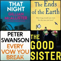 Mini Book Reviews: That Night | The Good Sister | Every Vow You Break | The Ends of the Earth