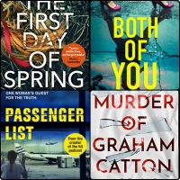 Mini Book Reviews: Both of You | The First Day of Spring | The Murder of Graham Catton | Passenger List