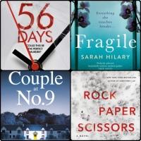 Mini Book Reviews: Fragile | Rock Paper Scissors | The Couple at No. 9 | 56 Days